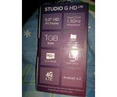 BLU Studio G HD 4G LTE Dual SIM dorado