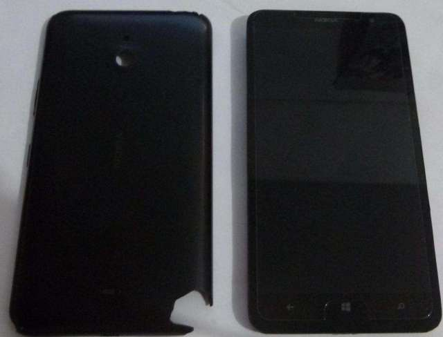 nokia lumia 1320 sale sin servicio ofrecer ..... su tapa esta rota