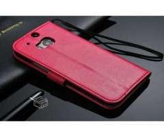 Funda HTC One M8 color rosado, Región Metropolitana