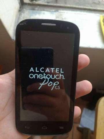 ALCATEL ONE TOUCH POP C5 CON DETALLE LIBRE!