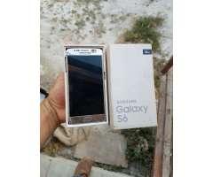 Vendo Samsung S6 con Su Caja Solo Venta.