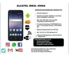 Alcatel Ideal 4060a 4g Lte Att 1gb Ram, 8gb Memoria, 5mpx