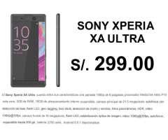 XA ULTRA XPERIA SONY S/.299 Plan CLARO MAX 189