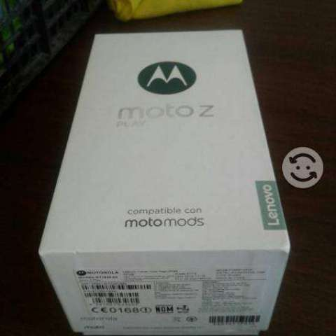 Moto z play libre nuevo