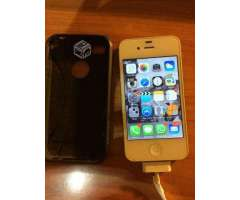 Iphone 4 8gb + cargador original , VIII Biobío