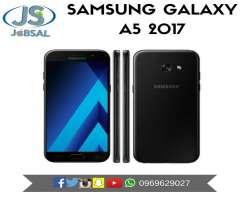 Samsung Galaxy A5 2017 Originales 32gb 3gb Ram 16mpx Resistente Al Agua Mica de Vidrio Gratis