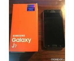 Vendo Samsung J7 Negociable
