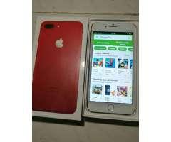 iPhone 7 Plus Rojo 19gb