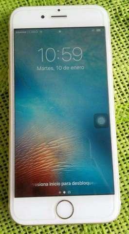 Vendo Un iPhone 6s de 64gb Color Dorado
