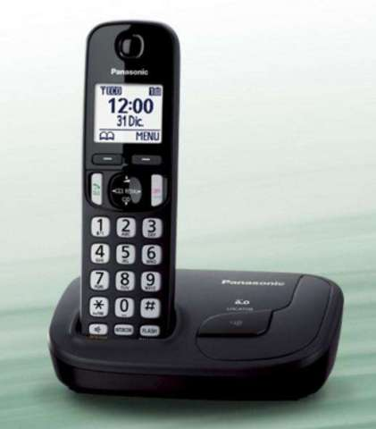TELEFONO INALAMBRICO PANASONIC KXTGD 210