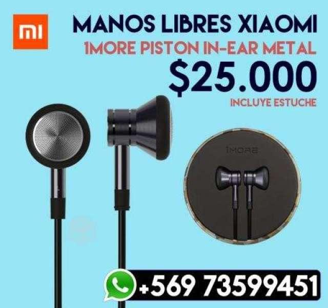 Audifonos Xiaomi 1More Air In - Metal, XIV Los Ríos