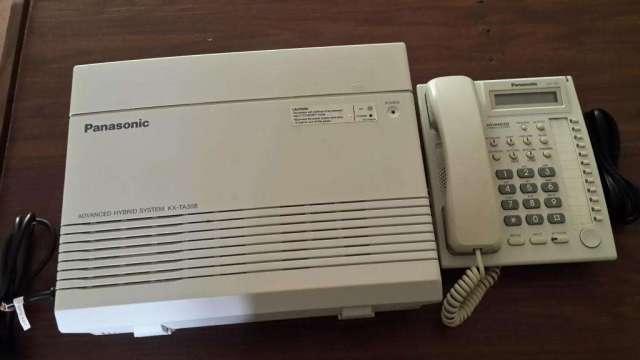 Planta Telefonica o Central Telefonica Panasonic KXTA308