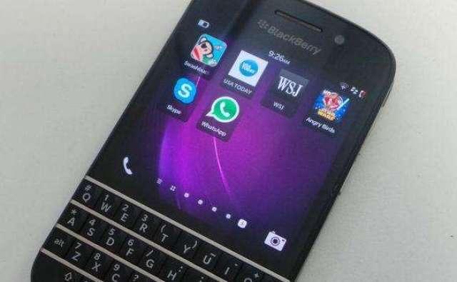 Se vende blackberry Q10 en excelente estado con apps android nada de cambios