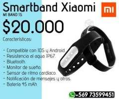 Xiaomi Mi Band 1s - Sensor de Ritmo Cardiaco, XIV Los Ríos