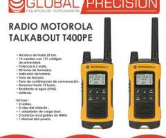 Radio Comunicador Motorola T400 Nuevo Dg