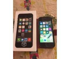 IPhone 5s space gray solo desgaste, IV Coquimbo