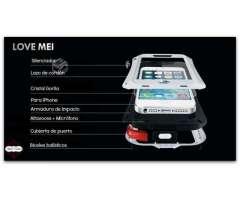 Carcasa Love Mei Armor Aluminio Iphone 44s55s5cSE6, VI O`Higgins