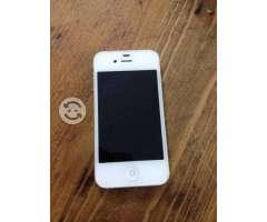 Iphone 4, 8 GB, color blanco, Telcel