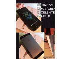 Iphone 5s 16 gb spay grey libre IMPECABLE! LIQUIDO!