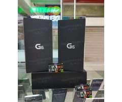 LG G6 DE 64GB NUEVO ORIGINAL CAJA SELLADA CON GARANTÍA