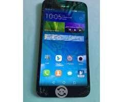Huawei G7 negro estrellado libre sirve todo
