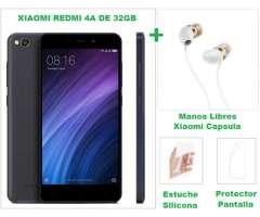 Xiaomi Redmi 4A 32GB con Manos Libres