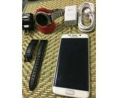 Vendo O Cambio Samsung S6 Edge de 32 Gbs