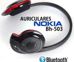 Auricular Nokia Bluetooth Sd Recargable