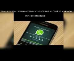 We Les Instala Whatsapp a Blackberryss