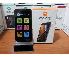 Motorola Moto G4 2GB RAM Pantalla 5.5 full HD Cámara 13MP/5MP
