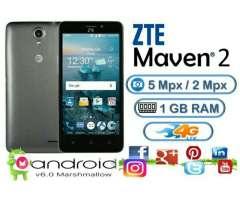 Zte Maven 2 4g Android 6.0 Quadcore 8gb