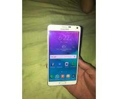 Samsung Note 4 4g Estuche, Cargador Y Te