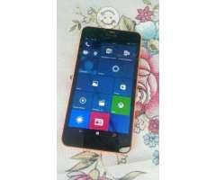 Microsoft Lumia 640 XL Movistar detalle cristal