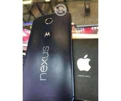 Motorola nexus 6 32gb libre 4g