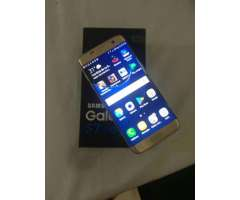 Samsung S7 Edge 32gb Dorado Como Nuevo