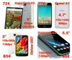 Varios móviles desde 72€ ¡Nuevos!
