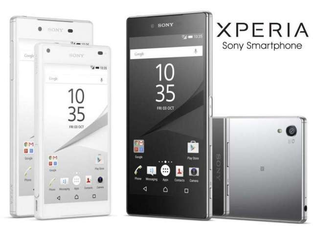 Sony Xperia Z5 32gb Negro / Blanco Tienda San Borja.