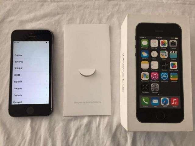 Apple iphone 5s 16gb spacegray