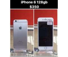 Se Vende iPhone 6 de 128Gb $350