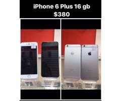 Se Vende iPhone 6 Plus 16Gb $380