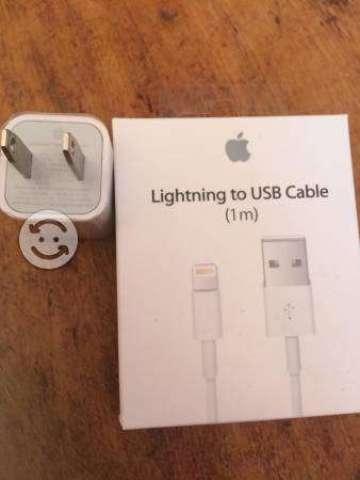 Cable y cargador iPhone 5 y 6