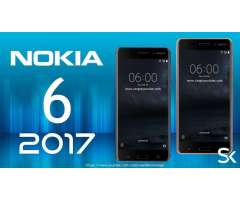 NOKIA 6 ORIGINALES NUEVOS 5.5 PULGADAS HD 32GB 4 DE RAM 16MPX