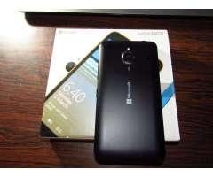 Nokia microsoft lumia 640 XL cámara trasera 13MP y frontal 5MP liberado de fábrica