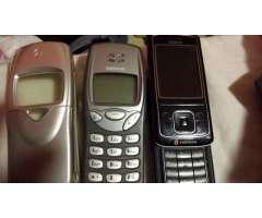 Nokia 3210 y 6280 más carcasa de regalo