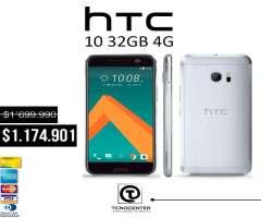 HTC 10 32GB 4G GRATIS Vidrio templado,nuevo, original, Garantía,Factura, S6 edge,s7,p9,s7 edg