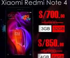 Xiaomi Redmi Note 4 4gb 64gb Global