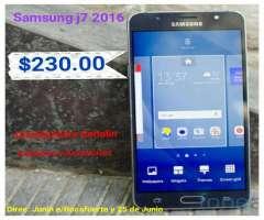 Samsung J7 2016 de Paquete de 16gb Inter