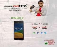 Motorola Moto G5 XT1670 Campaña Portabilidad y Renovacion CLARO