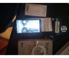 Lg stylus3 con garantia y saldo