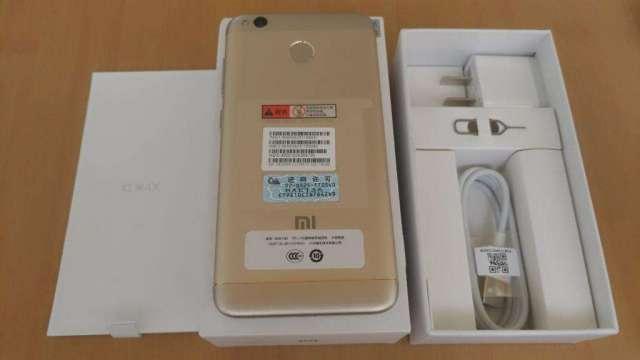 Xiaomi Redmi 4x Gold Nuevo